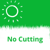 Our artificial grass does not need cutting